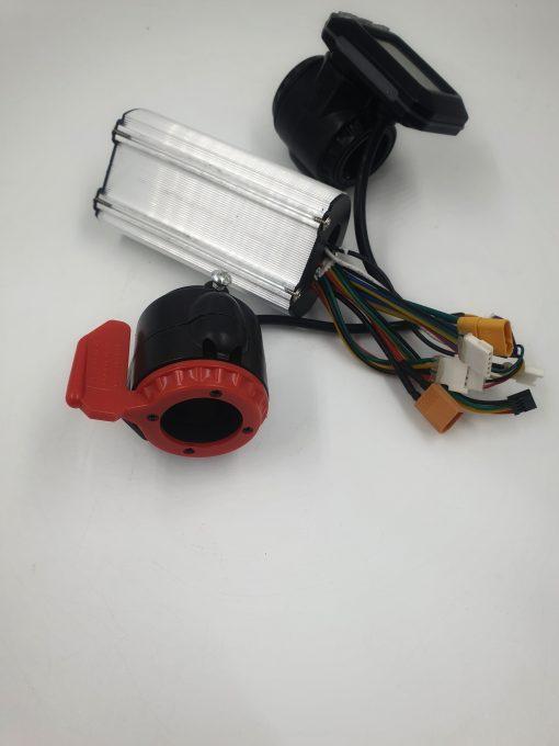Kontroleris 24V 250W, ekranas su greičio rankenėle