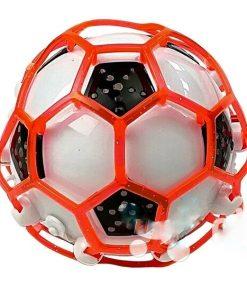 Šokinėjantis ir šviečiantis kamuoliukas